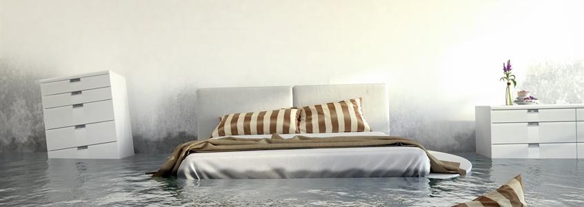 oorzaken van vochtproblemen in de slaapkamer
